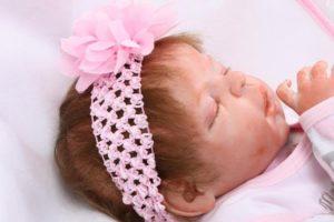 Bebé Reborn Niña NPK Primer Plano