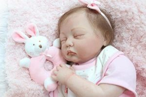 Bebé Reborn Niña Nicery con muñeco