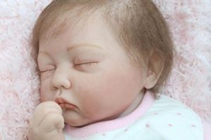 Bebé Reborn niña Nicery sin lazo